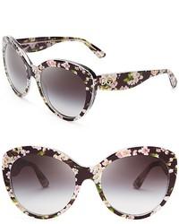 Dolce & Gabbana Dolcegabbana Floral Cat Eye Sunglasses