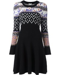 Kenzo Intarsia Sweater Dress