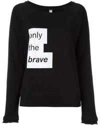 Diesel Motto Print Sweatshirt