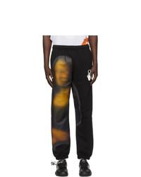 Off-White Black Blurred Mona Lisa Lounge Pants