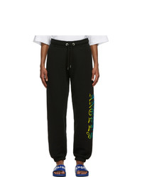 Palm Angels Black Hue Gothic Logo Lounge Pants