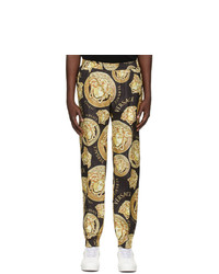 Versace Black Medusa Amplified Lounge Pants
