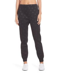 kate spade new york Heart Embossed Jogger Pants