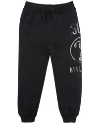 Moschino Logo Printed Cotton Jogging Pants