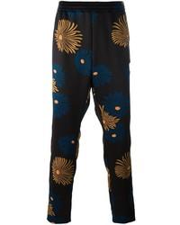 MSGM Floral Print Track Pants