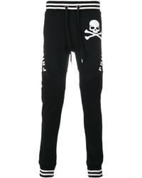 Philipp Plein Skull Print Track Pants