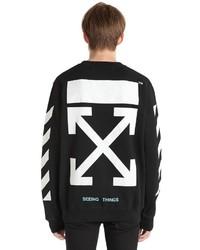 Off-White Arrows Printed Cotton Sweatshirt
