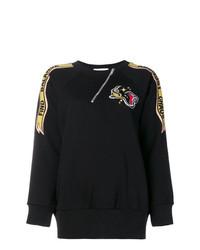 Givenchy Asymmetric Zipped Sweatshirt