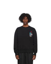 AMI Alexandre Mattiussi Black 9 Sweatshirt