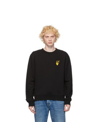 Off-White Black And Yellow Worldwide Sweatshirt