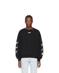 Off-White Black Caravaggio Arrows Sweatshirt