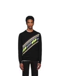 Fendi Black Cashmere Forever Sweatshirt