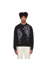 Kenzo Black Double Tiger Sweatshirt