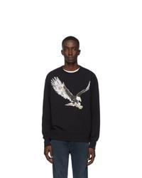 Rag and Bone Black Eagle Sweatshirt