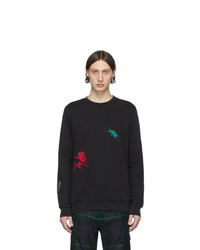 Paul Smith Black Embroidered Charm Sweatshirt