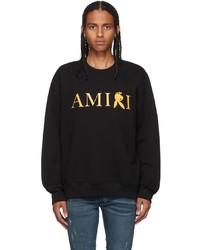 Amiri Black Gold Playboy Edition Reverse Bunny Sweatshirt