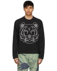 Kenzo Black K Tiger Sweatshirt