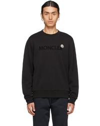 Moncler Black Lettering Sweatshirt