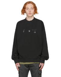 Off-White Black Logo Skate Sweatshirt
