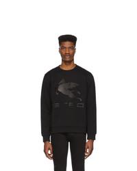 Etro Black Logo Sweatshirt