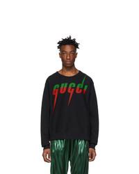 Gucci Black Logo Sweatshirt