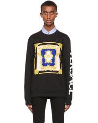 Versace Black Medusa Renaissance Sweatshirt