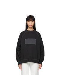 Maison Margiela Black Memory Of Label Sweatshirt