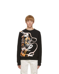 Maison Margiela Black Printed Sweatshirt