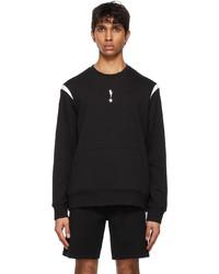 Neil Barrett Black Starbolt Sweatshirt