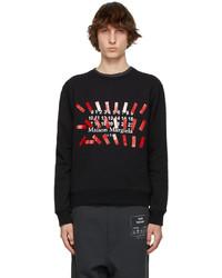 Maison Margiela Black Tape Print Sweatshirt