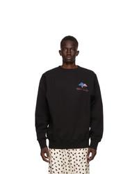 Marni Black Twist Graphic Sweatshirt