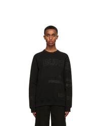 Burberry Black Woodbury Sweatshirt