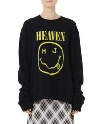 Marc Jacobs Grunge Logo Oversize Sweatshirt