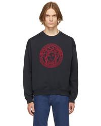 Versace Navy Medusa Sweatshirt