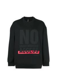 Neil Barrett No Unauthorised Access Sweatshirt