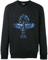 Lanvin Print Loopback Jersey Sweatshirt