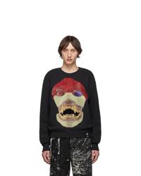 S.R. STUDIO. LA. CA. Sr La Ca Black Edition 50 Skulls Sweatshirt