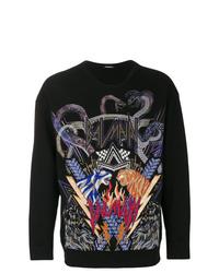 Balmain Tiger Embroidered Sweatshirt