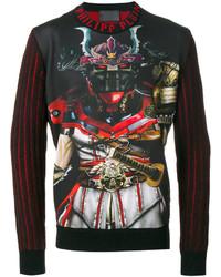 Philipp Plein Transformer Print Sweatshirt