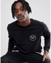 Brixton Wheeler Sweatshirt With Back Print