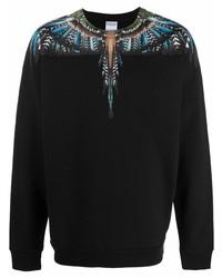 Marcelo Burlon County of Milan Wings Print Cotton T Shirt