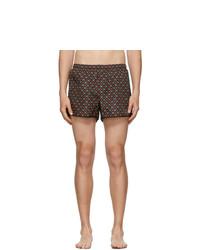 Gucci Black Gs Swim Shorts