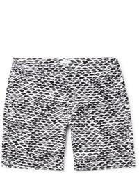 Onia Calder Long Length Printed Swim Shorts