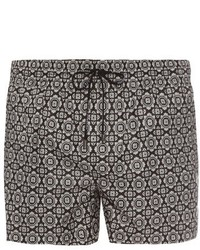 Dolce & Gabbana Medallion Print Swim Shorts