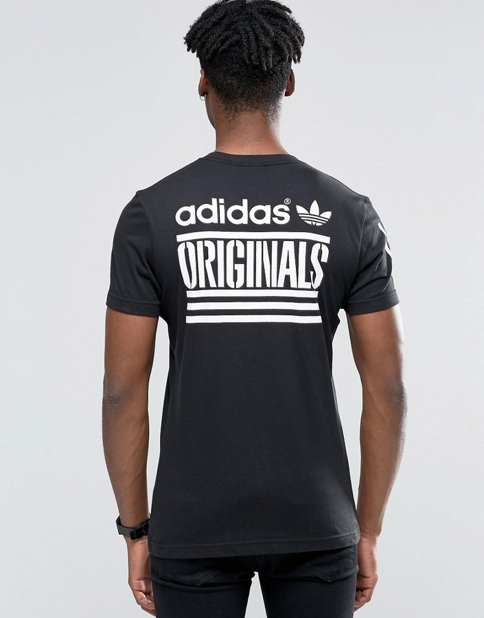 2fae37de1 adidas Originals Graphic T Shirt In Black Az1021, $35 | Asos ...