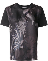 Salvatore Ferragamo Printed Satin Twill T Shirt