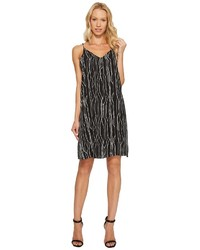 Electric lines tank dress w invert pleat dress medium 5077963