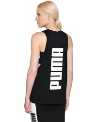Puma Select Logo Printed Jersey Tank Top