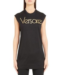 Versace Logo Tunic Top