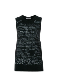 Givenchy Printed Sleeveless T Shirt